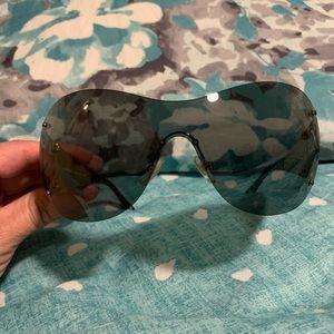 Rimless Versace sunglasses